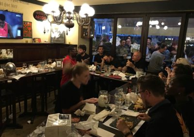 restaurant diffusion matchs rugby lausanne